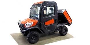 2014 Kubota RTV-X1100C Orange